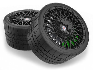 3D hre 501m wheel tire model