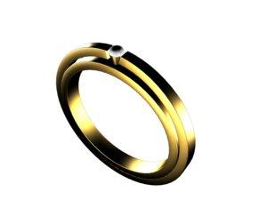 3D jeweller ring