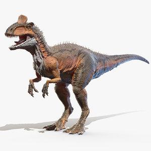 cryolophosaurus cryolophosauro model
