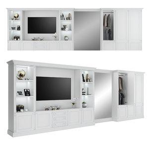 tv cabinet wardrobe fc model