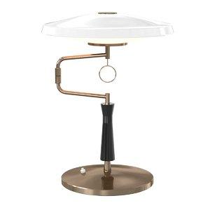 table lamp enameled metal 3D model