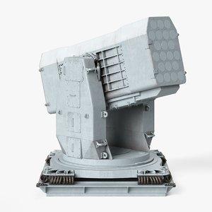 rim-116 rolling airframe missile 3D model
