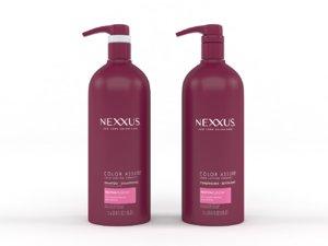 nexxus shampoo conditioner 3D model