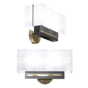 french cubic sconces model