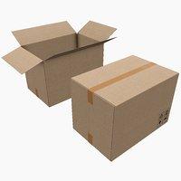Pbr Cardboard Box