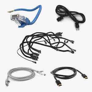 3D computer cables 4