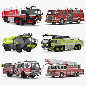trucks 5 3D model