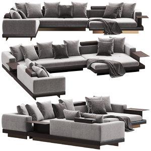 sofa minotti connery model