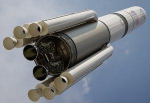 vulcan centaur rocket model