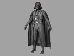 dark vadder 3D model