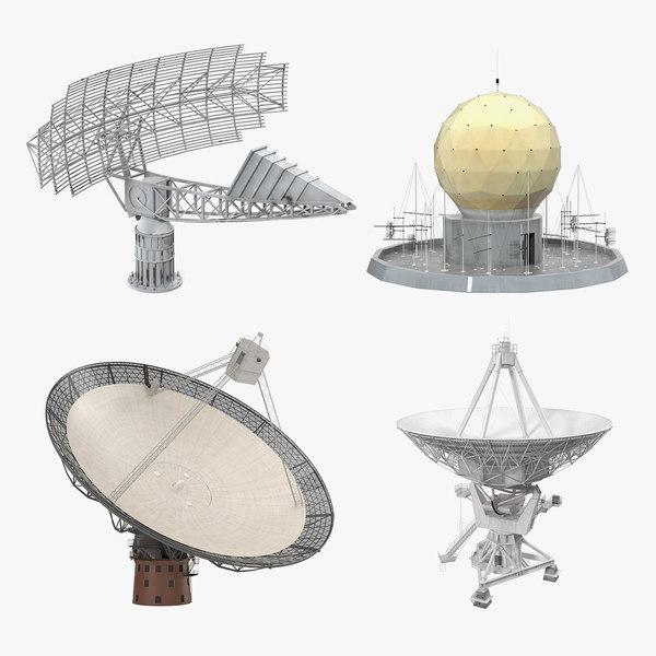 3D radar antennas 2 - TurboSquid 1591515