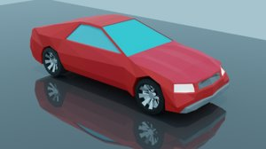 modular sedan 3D model