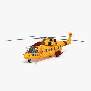 ch-149 cormorant 3D