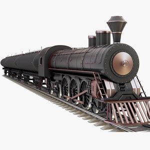 train tank oil 3D