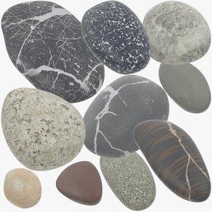 pebbles v1 3D model