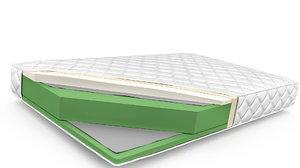 3D diagram cover sponge