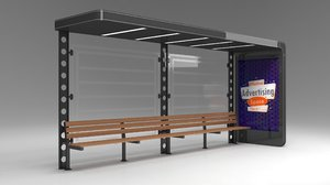 bus stop passenger model