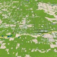 Maricopa County City 3d model