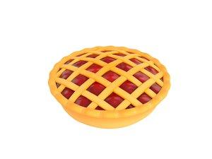 3D cherry pie