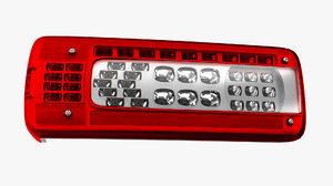 3D model taillight led truck