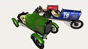 3D model 1929 baquet