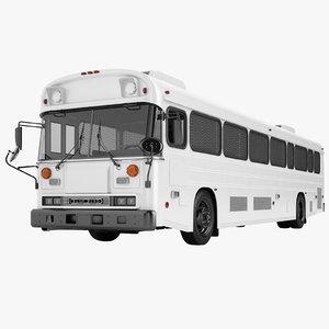 3D prison bus 2000 model