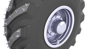 3D tire post apocalyptic