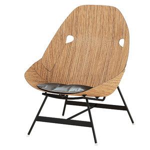 3D armchair time model