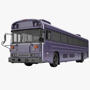 prison bus 2000 3D