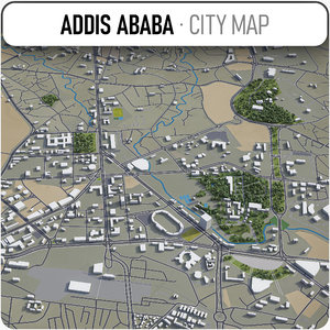 addis ababa surrounding - model