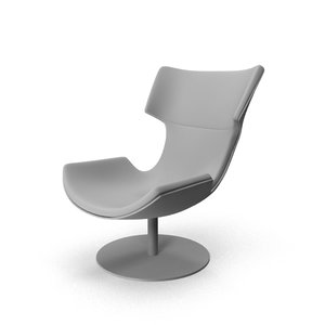 3D chair curved