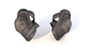3D elbow pads model
