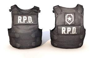 3D rpd vest model