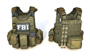 3D fbi vest tactical gear