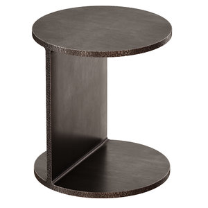 3D model table jackie iron