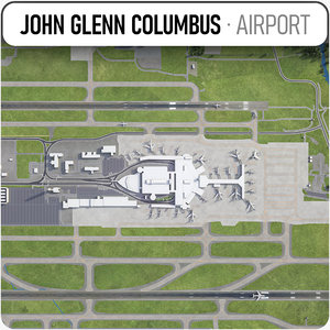 3D model - airport