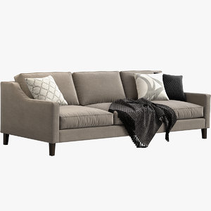 3D model paidge sofa