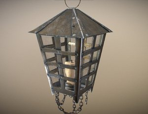 old hanging lamp model