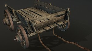 old barrow 3D model