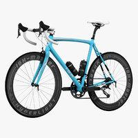 Racing Bicycle Animated HQ 001
