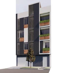 housing 3D model