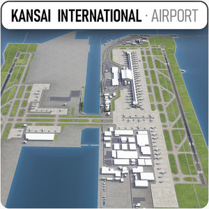 3D kansai international airport -