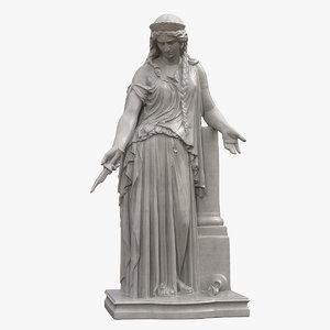 medea statue 3D model