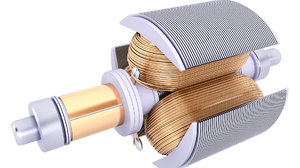 3D stator electric motor