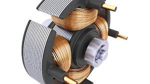 stator electric motor model