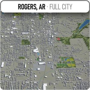 3D rogers surrounding -