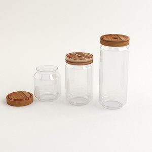 3D acacia glass
