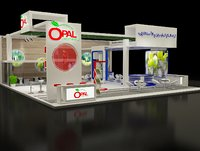 Booth Exhibition Stand a298