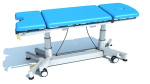 gynecological examination table 3D model