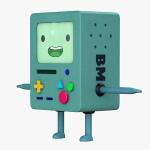 3D bmo character